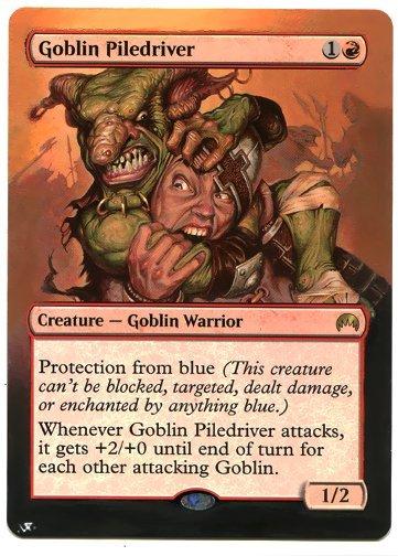Goblin, Pile driver