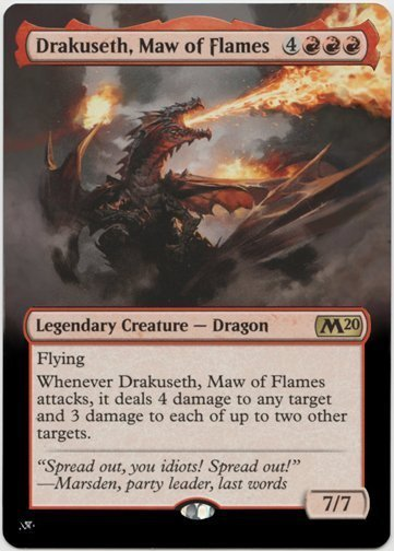 Image result for drakusth maw of flames